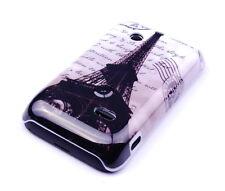 Schutzhülle f Sony Xperia tipo ST21i Case Tasche Eiffelturm Paris Cover Etui