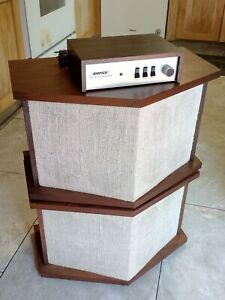 Vintage Bose 901 Series II Direct Reflecting Loudspeaker System Made In USA