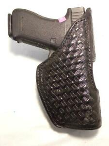 H741-41 DON HUME Level II PD Gun Holster for Standard GLOCK 19 22 31