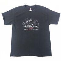 Fender Guitars Mens T-Shirt Shirt The American Standard Black Size L Large #776