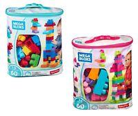 Mega Bloks Classique Constructible Blocs Set de Jeux Sac 60 Pièces