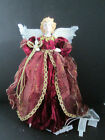 """Traditions Lighted Angel Tree Top or Centerpiece Christmas Decoration 12.5"""""""