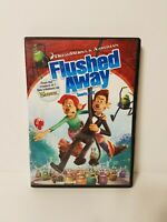 Flushed Away (DVD, Bilingual, French, 2007)