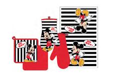 "Disney Mickey Mouse ""Oh Boy"" 3 Piece Kitchen Set"