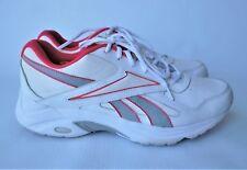 Women's Reebok Walk Ultra DMX Max Pink Ribbon White/Gray shoes US11.5 EU43 UK9