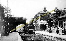Davenport Railway Station Photo. Stockport - Hazel Grove. Middlewood Line. (2)