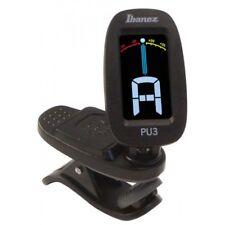 Ibanez Pu3-bk Clip Chromatic Tuner - Black Accordatori