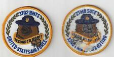U.S. AIR FORCE PATCH - VINTAGE 3702nd BASIC MILITARY TRAINING SQUADRON