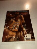 1971 Sports Illustrated LOS ANGELES Lakers GAIL GOODRICH No Label LA ON TOP
