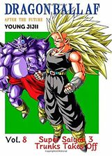 DRAGON BALL AF DBAF VOLUME 8 english Young Jijii dbz super doujinshi ultra rare