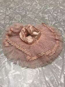 Vintage Vogue Ginny Doll Dress Pink Tutu Muffie Ginger Alexander-kins