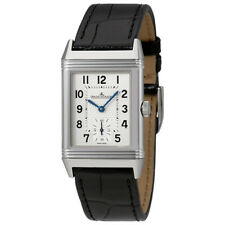 Jaeger LeCoultre Reverso Classic Silver Dial Mens Hand Wound Watch Q2438520