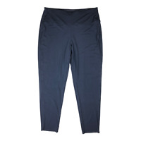 J. Jill Wearever Collection Size XLT Smooth Fit Slim Leg Navy Blue Pants