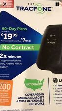 Tracfone Wireless NO CONTRACT LG 440G Flip Phone Black NEW