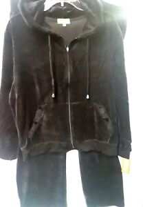 BNWT  velour soft ladies sweat track suit hoodie & bottoms XL sizes