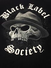 Black Label Society BLS SDMF Medium Black T-Shirt Guitar Heavy Metal Rock Band