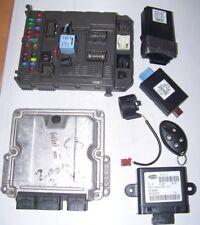 Steuergerät + BSI SATZ Peugeot 807 Citroen C8 2,2l HDI 0281011522 9655816780 ECU