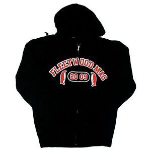 Fleetwood Mac 2009 Unleashed Tour Penguin Logo Full-Zip Sweatshirt Hoodie - XL