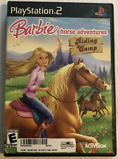 Barbie Horse Adventures Riding Camp (Sony PlayStation 2, PS2, 2008) Canadian