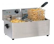 Friteuse inox électrique PRO 2 x 7 litres  Casselin