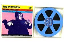 House of Frankenstein Universal 8 2012 Super 8mm Film & Box Boris Karloff