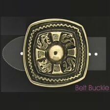 Keltische Gürtelschnalle Messing Drache Schild Buckle Belt Wechselschließe