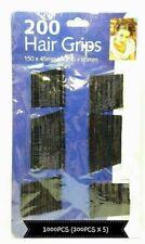 12pc Heart Silm Single Prong Alligator Hair Clip Bow DIY Crocodile Barrette 53mm