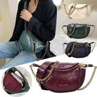 Damen PU Leder Crossbody Tasche kleine Schulter Bag Handtaschen Geldbörse Mode