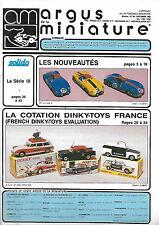 revue automobile: Argus de la Miniature. N°88 Sept 1986