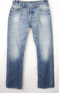 Levi's Strauss & Co Hommes 501 Jeans Jambe Droite Taille W36 L36 BDZ77