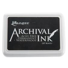 Ranger Jet Black Archival Ink Pad AIP31468