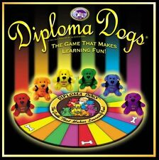 DIPLOMA DOGS BOARD GAME  2005 Trivia Learning Fun MCALISTER Inc    NEW