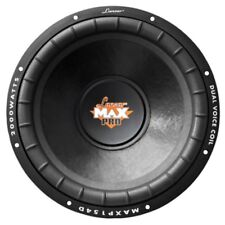 """Sub Lanzar Max 38,0 cm 15 """" MAXP154D 2000 Watt Max 4+4 Ohm 380 mm Doppelt Spule"""