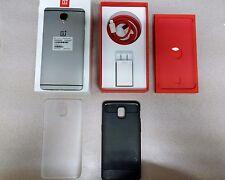 OnePlus 3 - 64GB - Graphite (Unlocked) Smartphone w/ Extras