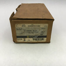 Square D 8501 XO00XTE1V02 New In Box AC Relay 120V Coil On Delay Timer A88