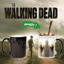 Heat Changing Color Mug Walking Dead Cup Coffee Sensitive Magic Halloween Gift