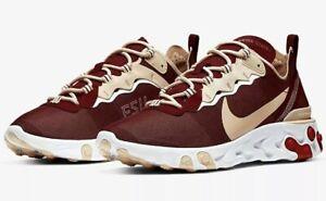2019 Florida State Seminoles Nike React Element 55 Sneakers Shoes No Box