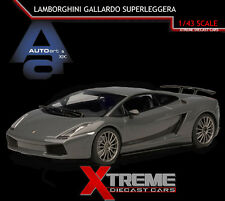 AUTOART 54613 1:43 LAMBORGHINI GALLARDO SUPERLEGGERA GREY SUPERCAR