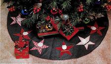 STARRING SANTA CHRISTMAS TREE SKIRT - VINTAGE SEWING PATTERN