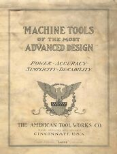 American Tool 18 36 Lathe Radial Shapers Tool Works Catalog P59