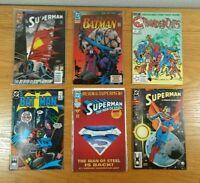 COMIC BOOKS (Lot Of 50+) Assorted w/ Superheroes: Batman, Superman, etc. LOT D