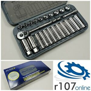 "Blue Point 24pc 3/8"" Socket Set - As sold by Snap On."