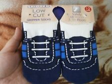 CLOSEOUT SALE! Imported From USA! Skidders Low Cut Gripper Socks 12 months