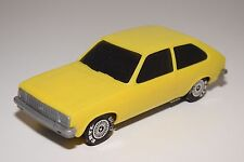 ERTL PLASTIC CHEVROLET (VAUXHALL) CHEVETTE YELLOW EXCELLENT CONDITION RARE