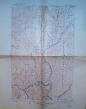 Vintage USGS  Topographic  Map  1905 Okanogan  Brewster Pateros Washington State