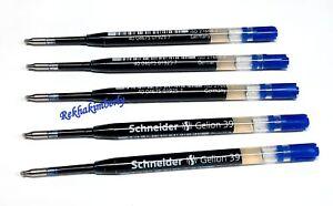 Schneider Gelion 39 Pen Gel Ink Refill BLUE Line:0.4mm Germany 103903 5pc/pack