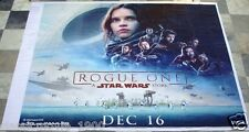 ROGUE ONE: STAR WARS STORY (2016) ORIGINAL INDIA GIANT VINYL THEATER BANNER
