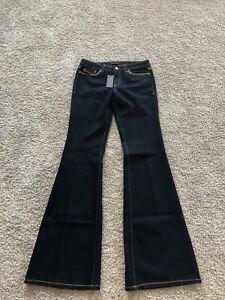 NWT Rachel Zoe Dark Denim, Flared Jeans, Size 29
