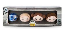Disney Store Micro Tsum Tsum Star Wars 40th Anniversary Soft Toy Set BNIB