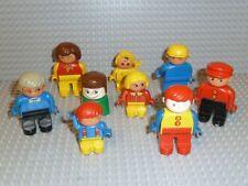 LEGO® DUPLO VILLE 9 X Figur MECHANIKER BAUARBEITER Polizist Rennfahrer F752